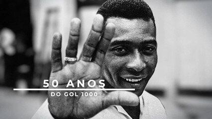 50 anos do gol 1000. Luís Roberto reconstrói narração do milésimo gol de Pelé