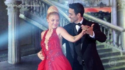 Luíza Sonza dança foxtrote no 'Dança dos Famosos'