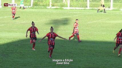 Gols da primeira final entre Real Ariquemes e Porto Velho