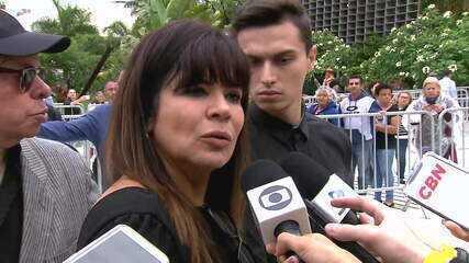 Mara Maravilha diz que Gugu era puro sorriso e um irmão para ela