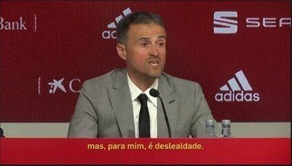 Redação discute retorno à seleção espanhola e acusações de Luis Enrique contra ex-auxiliar