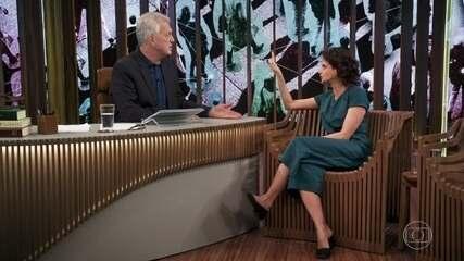 Denise Fraga brinca que é atriz em uma geração atrasada