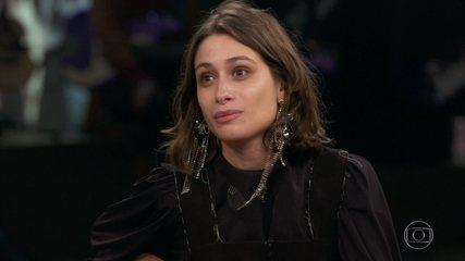 Luisa Arraes relembra o inicio de sua carreira