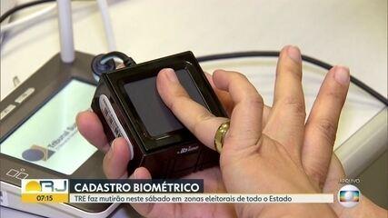TRE faz mutirão neste sábado para o cadastramento biométrico