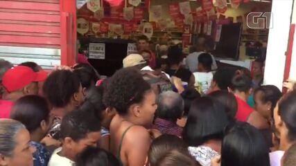 Black Friday: Moradores da região de Cajazeiras enfrentam confusão para dia de compras