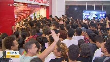 Shoppings de Macapá amanhecem lotados em busca de descontos da Black Friday