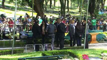 Corpo de Gugu Liberato será enterrado em São Paulo