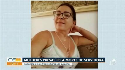 4 mulheres são presas suspeitas da morte de servidora da Assembléia