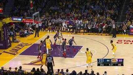 Melhores momentos: Los Angeles Lakers 125 x 103 Washington Wizards