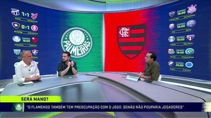 Troca de Passes comenta sobre a decisão de torcida única e possível escalação para o confronto Palmeiras x Flamengo