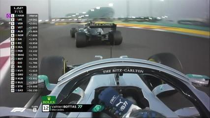 Mais uma ultrapassagem de Bottas, agora sobre Magnussen