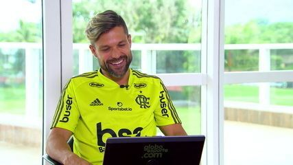 Só emoção! Diego fala sobre a final da Libertadores, lesão e a difícil recuperação