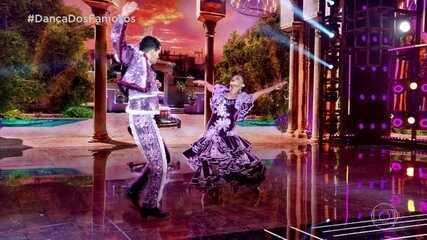 Reveja a apresentação de Dandara Mariana dança no paso doble!
