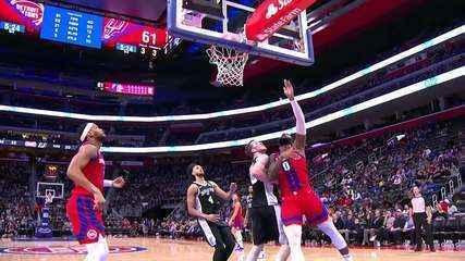 Melhores momentos: Detroit Pistons 132 x 98 San Antonio Spurs