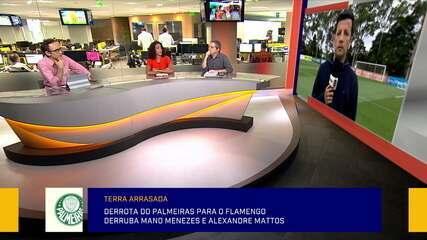 Comentaristas debatem sobre a crise no Palmeiras