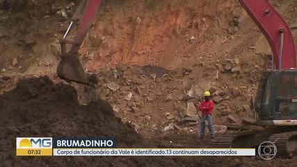 Polícia identifica corpo de 257ª vítima de rompimento da Vale em Brumadinho