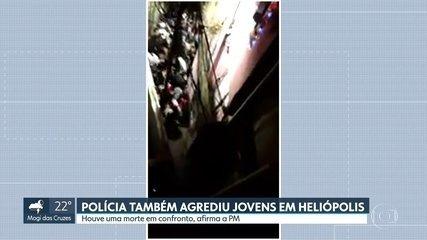 Ação policial em baile funk deixa um morto em Heliópolis