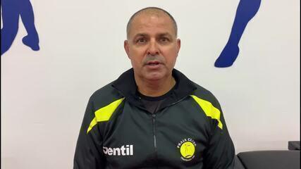 Paulo Coco elogia reação do Praia, mas lamenta eliminação no Mundial