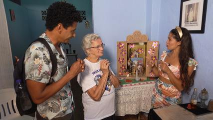 O 'Vumbora' desbrava o bairro de Calafate, em Salvador