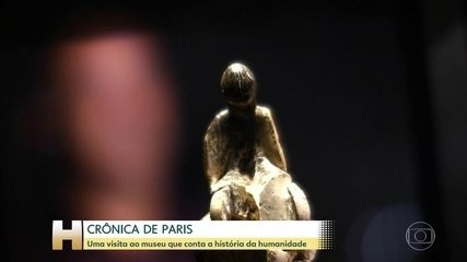 Museu do Homem conta a história da humanidade, em Paris