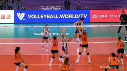 Pontos finais: Conegliano 3 x 1 Eczacibasi pela final do Mundial de Clubes de Vôlei Feminino