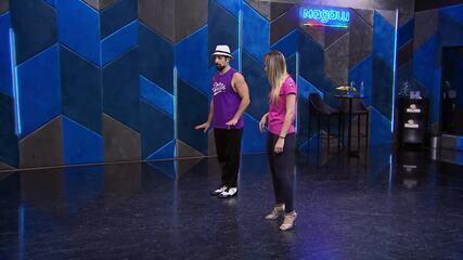 Veja os ensaios de Kaysar Dadour e Mayara Araújo para semifinal do 'Dança dos Famosos'