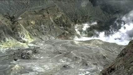 Vulcão na Nova Zelândia deixa cinco pessoas mortas e várias feridas