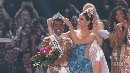 Sul-africana é coroada Miss Universo