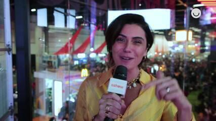 Gshow na CCXP: Giovanna Antonelli celebra 'O Clone' e 'Filhas de Eva'
