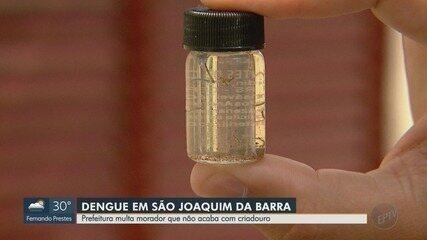 Morador que mantém focos de Aedes aegypti é multado em São Joaquim da Barra, SP