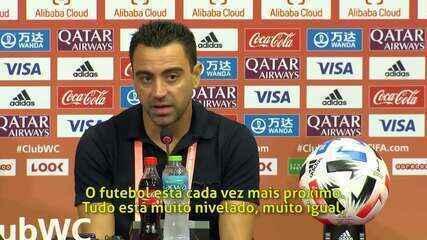 """Xavi vê Flamengo com chances no Mundial """"Não vejo uma distância grande"""""""