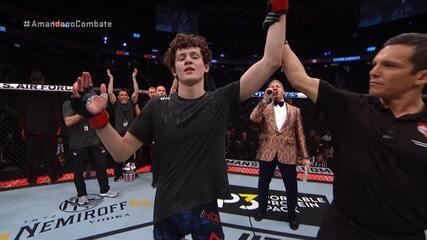 Melhores momentos de Chase Hooper x Daniel Teymur no UFC 245