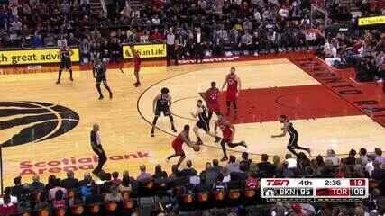 Melhores momentos: Toronto Raptors 110 x 102 Brooklyn Nets