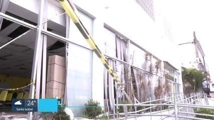 Polícia investiga ataque a banco no Grajaú