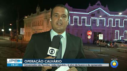 JPB2JP: BLOCO 2: Governador da Paraíba, João Azevêdo, é alvo de busca e apreensão