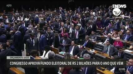 Congresso aprova o Orçamento da União de 2020 com fundo eleitoral de R$ 2 bi