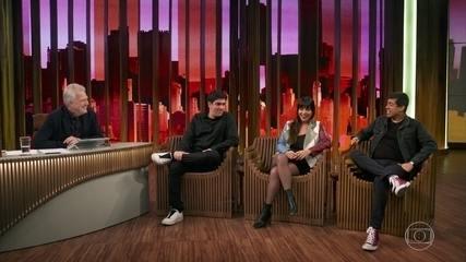 Marcelo Adnet, Daniela Ocampo e Marcius Melhem falam sobre 'Fora de Hora'