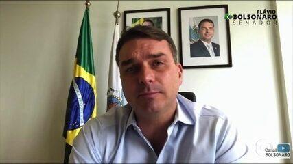 Flávio Bolsonaro pede ao Supremo para suspender investigações sobre esquema de rachadinha