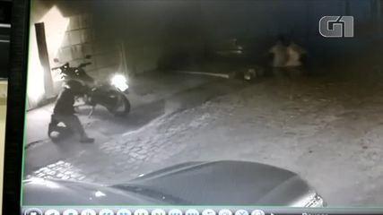 Vídeo mostra policial civil sendo assassinado no RN
