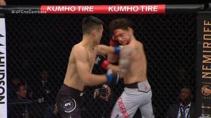 Melhores Momentos de Frankie Edgar x Chan Sung Jung no UFC Busan em 21/12/2019