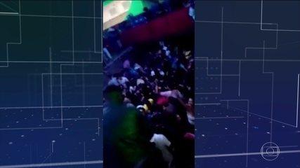 Desabamento de camarote deixa 22 feridos em Franca, no interior de São Paulo