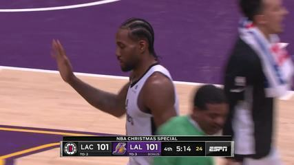 Melhores momentos: Los Angeles Lakers 106 x 111 Los Angeles Clippers pela NBA