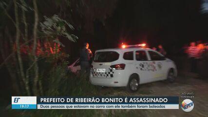 Prefeito de Ribeirão Bonito é assassinado a tiros e outras duas pessoas são baleadas