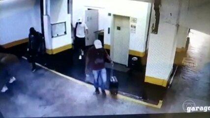Criminosos alugam apartamento em SP e fazem arrastão enquanto viajam