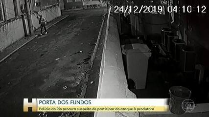 Operação no Rio busca um dos suspeitos por atacar produtora do Porta dos Fundos