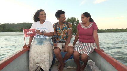 O 'Vumbora' visita o distrito de Pirajuia, onde conhece a historia de Izabel Cristina