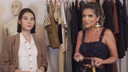 O 'Expresso da Moda' mostra a tendência minimalista do armário cápsula