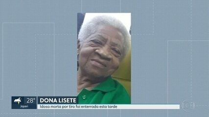 Enterrada em São Gonçalo idosa morta por tiro no quintal de casa.