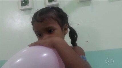 Menina fica 5 dias perdida em floresta, no Pará.