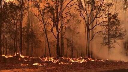 Veja a dimensão do maior incêndio na Austrália em 20 anos